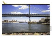Two Bridges View - Manhattan Carry-all Pouch