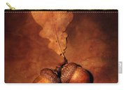 Two Brown Acorns Carry-all Pouch