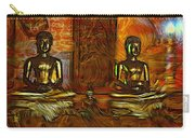 Two Buddhas Carry-all Pouch