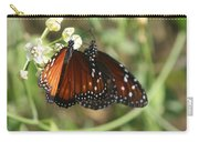 Two Butterflies Carry-all Pouch