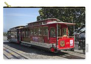 Two Cable Cars San Francisco Carry-all Pouch