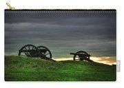 Two Cannons At Gettysburg Carry-all Pouch by Bill Cannon