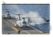 Two Ch-46e Sea Knight Helicopters Carry-all Pouch