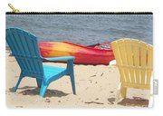 Two Chairs And A Boat Carry-all Pouch