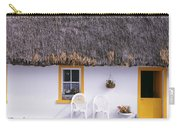 Two Chairs Outside A Cottage, County Carry-all Pouch