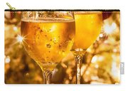 Two Champagne Glasses Ready To Bring In The New Year Carry-all Pouch
