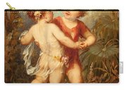 Two Cherubs Carry-all Pouch