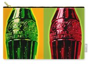 Two Coke Bottles Carry-all Pouch by Gary Grayson