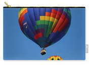 Two Colorful Balloons Carry-all Pouch