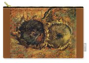 Two Cutted Sunflowers Carry-all Pouch