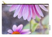 Two Echinacea Carry-all Pouch