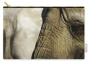 Two Elephants' Eyes Carry-all Pouch