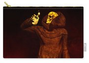 Two Faces Of Death Carry-all Pouch by Bob Orsillo