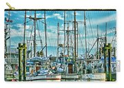 Two Fishing Boats Hdr Carry-all Pouch