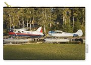 Two Float Planes On Moosehead Lake Near Greenville Maine  Carry-all Pouch