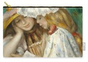 Two Girls Reading Carry-all Pouch