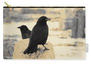 Two Graveyard Blackbirds Carry-all Pouch