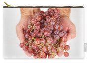 Two Handfuls Of Red Grapes Carry-all Pouch