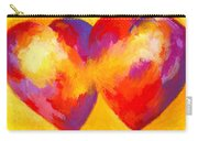Two Hearts Beat As One Carry-all Pouch