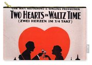 Two Hearts Carry-all Pouch