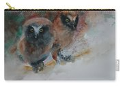 Two Hoots Carry-all Pouch