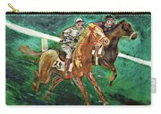Two Horse Race Carry-all Pouch