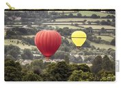 Two Hot Air Baloons Drifting Carry-all Pouch
