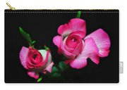 Two In Pink Carry-all Pouch