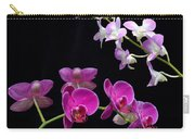 Two Kind Of Orchid Flower Carry-all Pouch