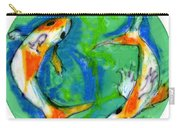 Two Koi Fish Carry-all Pouch