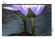 Two Lilies And A Heart Carry-all Pouch