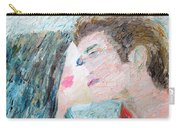Two Lovers Kissing Carry-all Pouch