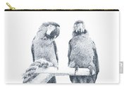 Two Macaws Carry-all Pouch