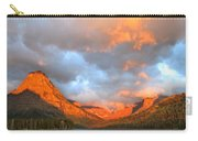Sinopah Mountain And Two Medicine Lake Sunrise Glacier National Park Montana Carry-all Pouch
