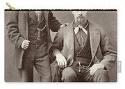 Two Men, 19th Century Carry-all Pouch