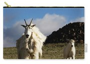 Two Mountain Goats Oreamnos Americanus Carry-all Pouch