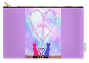 Two Of Hearts Carry-all Pouch