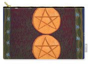 Two Of Pentacles Carry-all Pouch