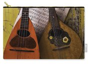 Two Old Mandolins Carry-all Pouch