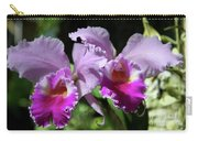 Two Orchids  Carry-all Pouch