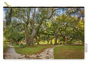 Two Paths Diverged In A Live Oak Wood...  Carry-all Pouch