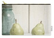 Two Pear Still Life Carry-all Pouch