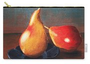 Two Pears Carry-all Pouch by Anastasiya Malakhova
