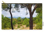 Two Pine Trees Carry-all Pouch by Carlos Caetano