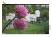 Two Pink Chives Carry-all Pouch