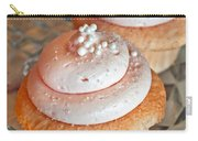 Two Pink Cupcakes Art Prints Carry-all Pouch