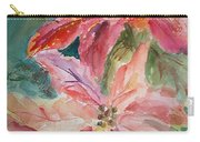 Two Poinsettias Carry-all Pouch