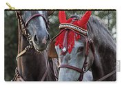 Two Red Devils Carry-all Pouch