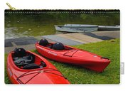Two Red Kayaks Carry-all Pouch