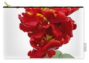 Two Red Parrot Tulips Carry-all Pouch
